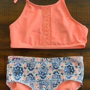 Justice Girls Two Piece Swimsuit